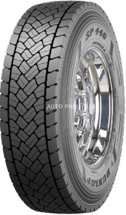 315/80R22.5 154M156L Dunlop SP446 M+S