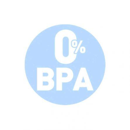 Biberon Chicco Natural Feeling PureGlass, 250ml, tetina silicon, flux normal, 0luni+, 0%BPA