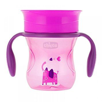 Canuta Chicco 360 Perfect Cup, Girl, 12luni+