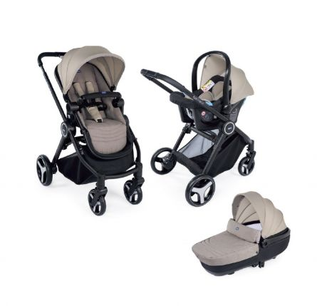 Carucior 3 in 1 Chicco Trio Best Friend Comfort, Beige (Bej), 0luni+