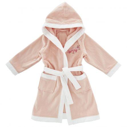 Halat baie copii Chicco, fetite, roz cu alb, 116