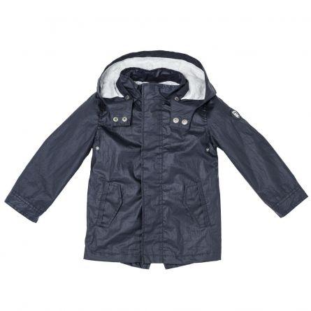 Jacheta copii Chicco, gluga, baieti, albastru, 87172