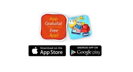 Jucarie Chicco App set 40 piese constructie 2D Ferma animalelor, 12luni+