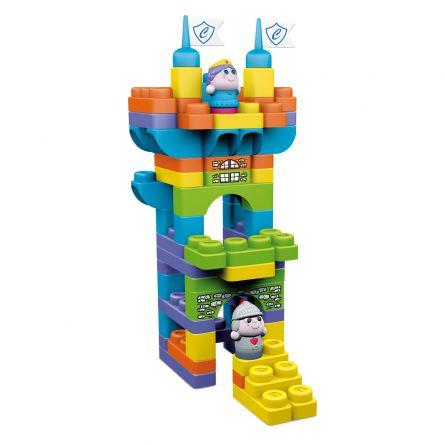 Jucarie Chicco App set 70 piese constructie 3D, Castelul Imparatului (12 luni - 6 ani)