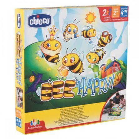 Jucarie Chicco joc de asociere Bee happy, 2ani+