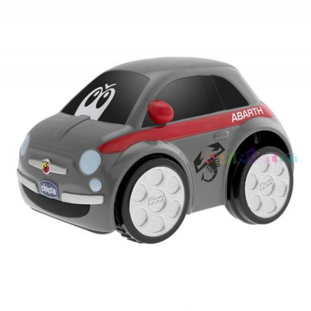 Jucarie Chicco masinuta Turbo Touch Fiat 500, Abarth, 3-6 ani+