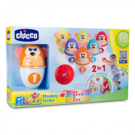 Jucarie Chicco set 6 Popice Loveste maimutica