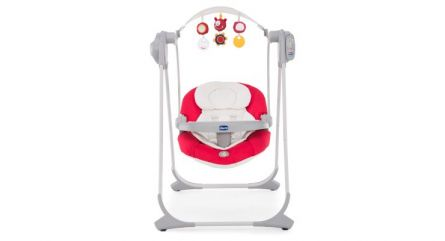 Leagan-balansoar Chicco Polly Swing UP, Silver