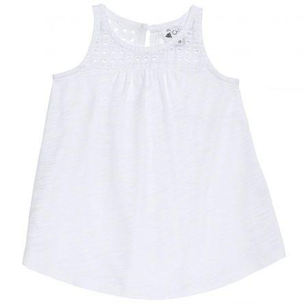 Maieu fetite Chicco, alb, 122
