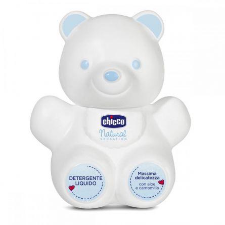 Lichid pentru curatare Teddy Bear Chicco Natural Sensation 300ml, 0luni+