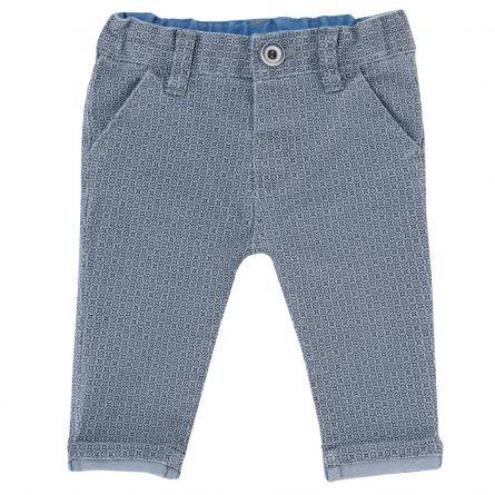 Pantalon lung Chicco pentru copii, bleu, 24463