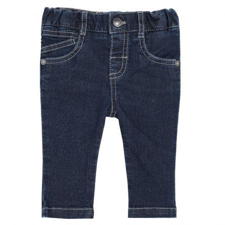 Pantalon lung copii, Chicco, pentru baieti, albastru denim, 86