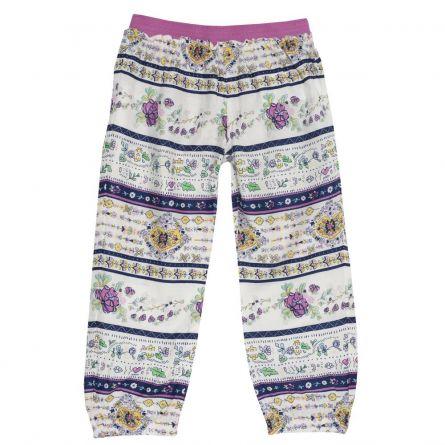 Pantalon lung fetite Chicco, multicolor, 128