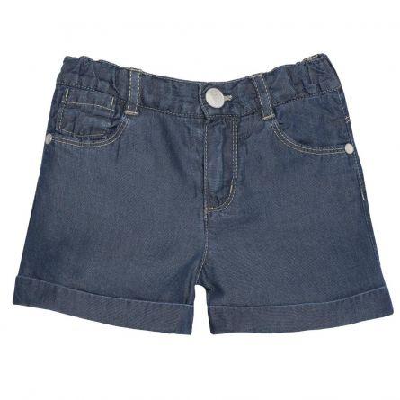 Pantalon scurt copii Chicco, fetite, denim, 52630