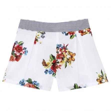 Pantalon scurt copii Chicco, fetite, inflorat, 52592