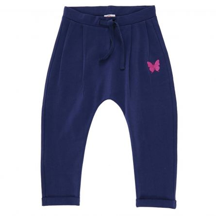 Pantalon trening copii Chicco, albastru, 110
