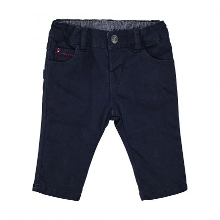 Pantaloni copii Chicco, albastru, 68