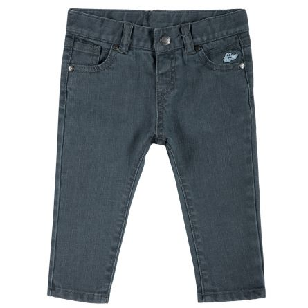Pantalon lung copii Chicco, denim, 98