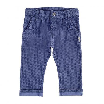 Pantaloni lungi copii Chicco, albastru, 74