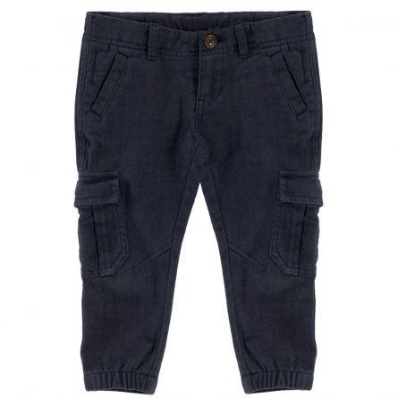 Pantaloni lungi copii, Chicco, albastru, 92