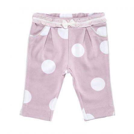 Pantaloni lungi copii Chicco, corai, 74