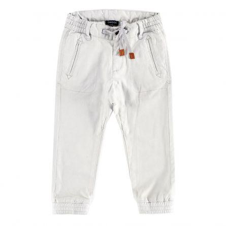 Pantaloni lungi copii Chicco, gri deschis, 92