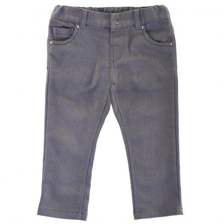 Pantaloni lungi copii Chicco, gri inchis, 122