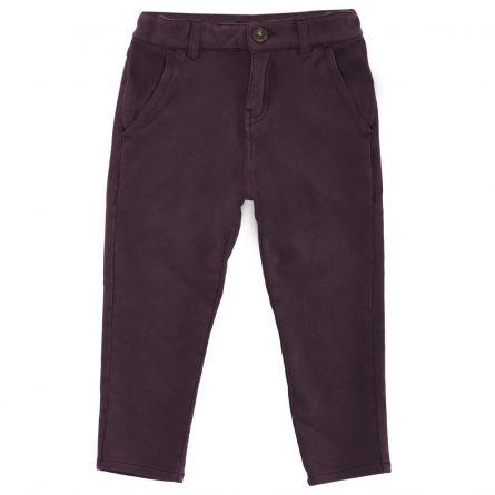 Pantaloni lungi copii, Chicco, visiniu, 104