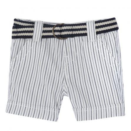 Pantaloni scurti copii Chicco, baieti, alb, 52595