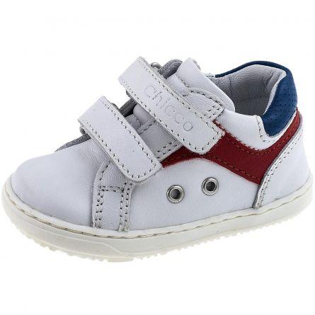 Pantof copii sport Chicco, alb, 18
