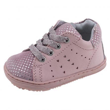 Gheata-pantof Chicco, 100% piele naturala, roz, 23