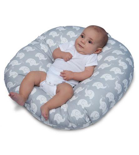 Perna anatomica pentru relaxare nou-nascut Boppy Hug&Nest