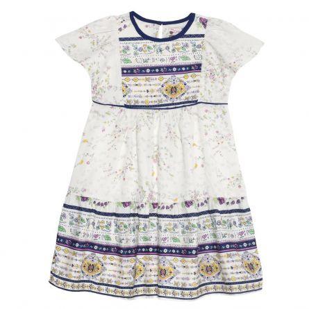 Rochie fetite Chicco, maneca scurta, multicolor, 98