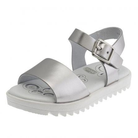 Sandale fetite Chicco, argintiu, 26