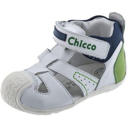 Sandale pentru copii Chicco, alb, 18
