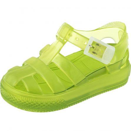 Sandale copii Chicco, alb cu verde, 20