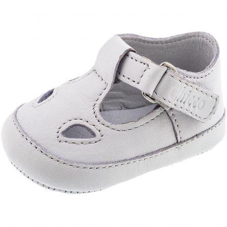 Sandalute bebelusi Chicco Nicolino, alb, 55400