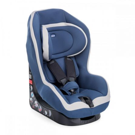 Scaun auto Chicco Go-One Baby, Blue, 12luni+