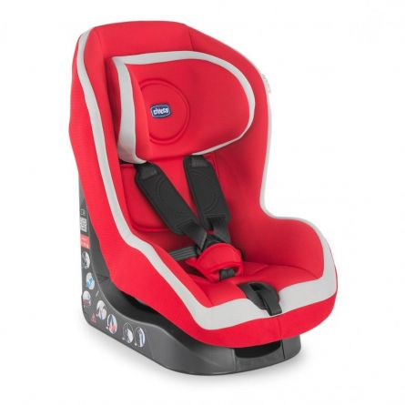 Scaun auto Chicco Go-One Baby, Red, 12luni+
