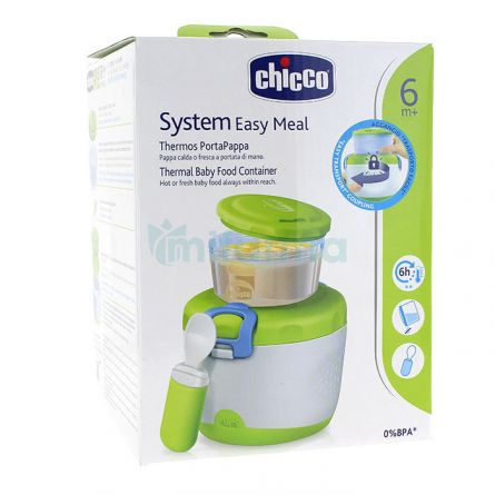 Sistem termic Chicco pentru recipiente hrana, 6luni+