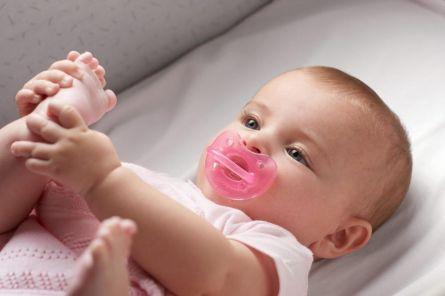 Suzeta Chicco silicon Physio Soft, forma ortodontica, 12luni+, roz