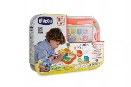 Tableta Chicco App Happy Tab Blocks, 18luni+