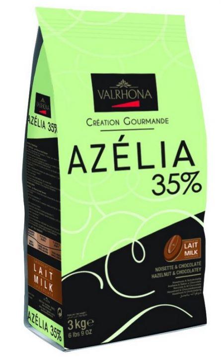 Ciocolata cu Lapte Premium AZELIA 35% CACAO, Valrhona, 3Kg 10005502