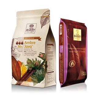 Ciocolata Lapte AMBRE JAVA 36%, 5 kg, Cacao Barry