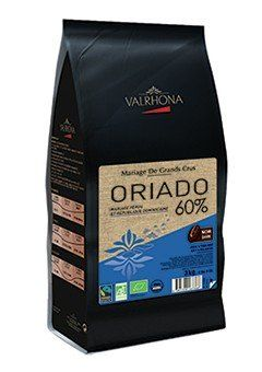 Ciocolata Neagra BIO Oriado 60% VALRHONA 3Kg