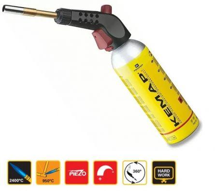 Arzator profesional piezo Kempomatic valva CGA600