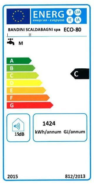 Boiler electric 80 litri Braun Ecofire rezistenta electrica 1200W cu garantie 5 ani