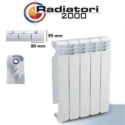 Elementi aluminiu H350 Helyos King Radiatori 2000