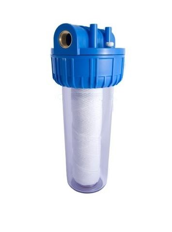Filtru apa 10``cu filet de 1``1/2 si cartus filtrant lavabil