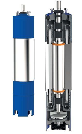 Motor submersibil de 6`` 400V  37 kw